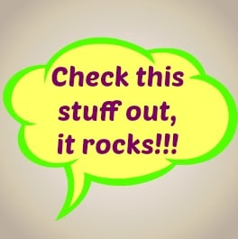 """A word cloud for serving others says, """"Check this stuff out, it rocks!"""""""