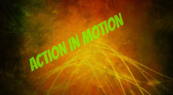 """Leading transformation depicted with an image of lines zig-zagging to reveal """"action in motion""""."""