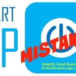 Business Coaching by Brilliant Breakthroughs, Inc. startup mistake illustrated by image of