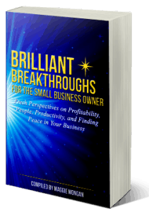 """""""Brilliant Breakthroughs for the Small Business Owner"""" book 2017"""