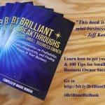Small Business Coaching by Brilliant Breakthroughs, Inc. Completing Projects illustrated by a cover that's being released today.
