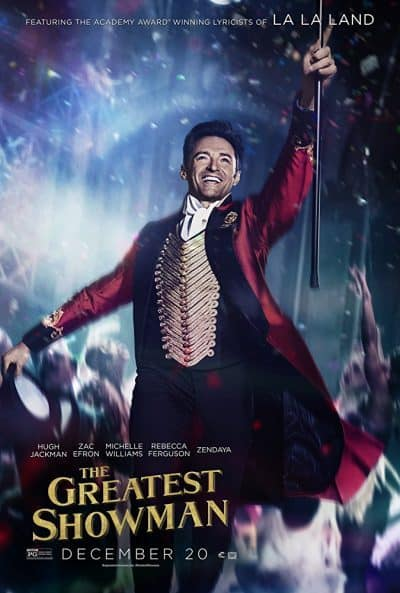 Small Business Coaching by Brilliant Breakthroughs, Inc. The Greatest Showman illustrated by the Movie's Theater Poster of the Ringmaster.