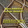 Small Business Coaching by Brilliant Breakthroughs, Inc. Topic: Ambition illustrated by train tracks changing from one line to another.