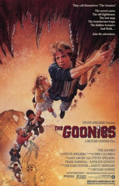 Small Business Coaching by Brilliant Breakthroughs, Inc.  Topic: The Goonies illustrated with the movie poster.