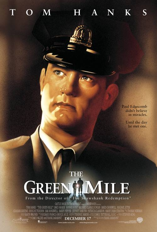 Small Business Coaching by Brilliant Breakthroughs, Inc. Topic: The Green Mile illustrated by the Movie Poster. Image Credit: IMDb.com