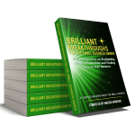 Small Business Coaching by Brilliant Breakthrough, Inc. Topic: 1 Expert Power Move illustrated with book stack of Vol 2 in book series.