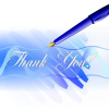 "Small Business Coaching by Brilliant Breakthroughs Inc. Topic: Respecting Each Other. Illustrated by a written ""Thank You"""