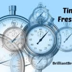fresh start illustrated by stop watches