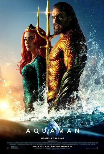 Aquaman with Trine and women