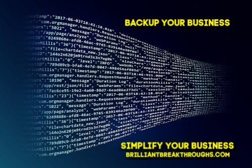 Digital steaming of tech backup