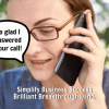 Phone calls create conversations - create a follow up phone call system.