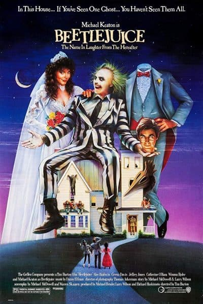 Beetlejuice movie poster by imbd.com