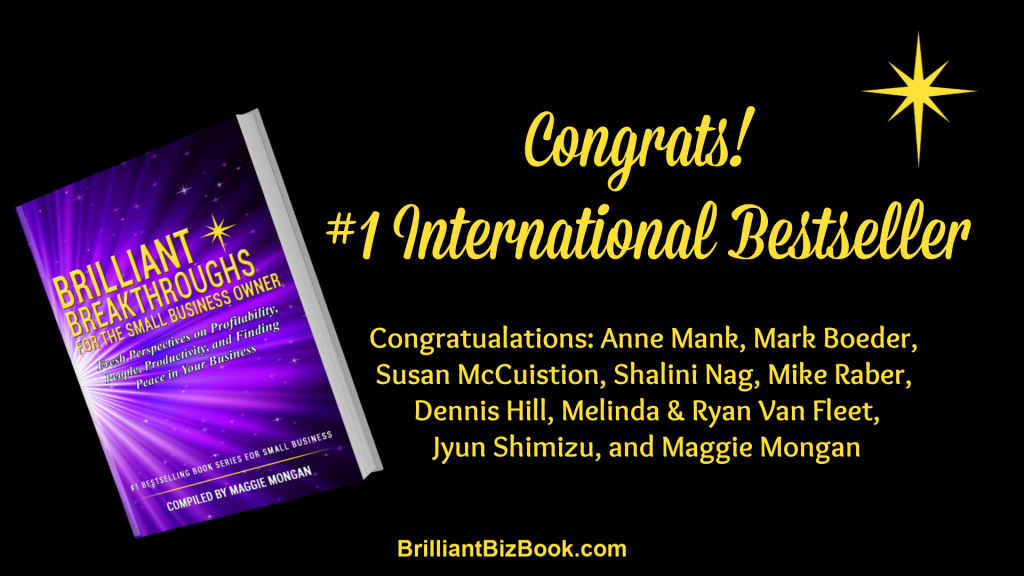 #BrilliantBizBook Image and #1 International Bestseller team members